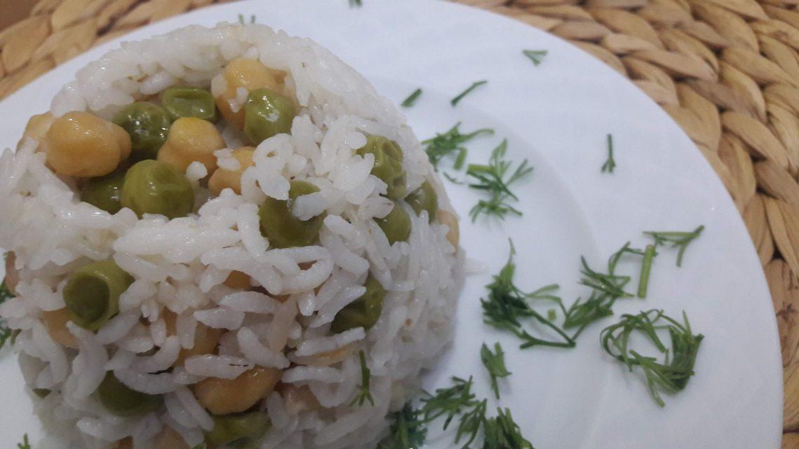 Nohutlu Pirinç Pilavı Tarifi (Rice with chickpeas)