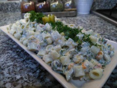 Garnitürlü Makarna Salatasıküçük