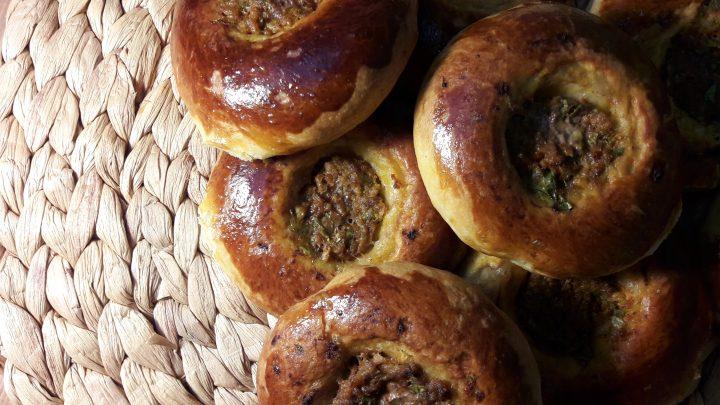Kıymalı Poğaça Tarifi (Donut with minced meat Recipe)