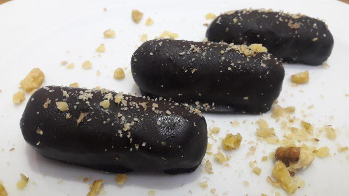 Ballı Çikolatalı Kestane Şekeri