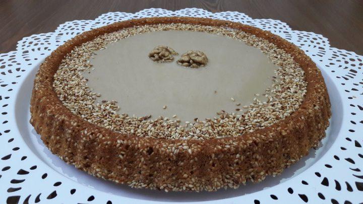 Tahinli Tart Kek Tarifi Tahini Cake Recipe