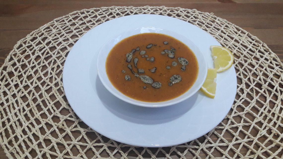 Sebzeli Kırmızı Mercimek Çorbası Tarifi | Lentil soup Recipe |
