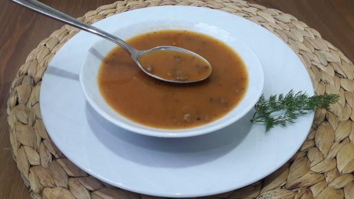 Toz Tarhana Çorbası Yapımı (Kıymalı) | Turkish Amazing Soup Recipe |
