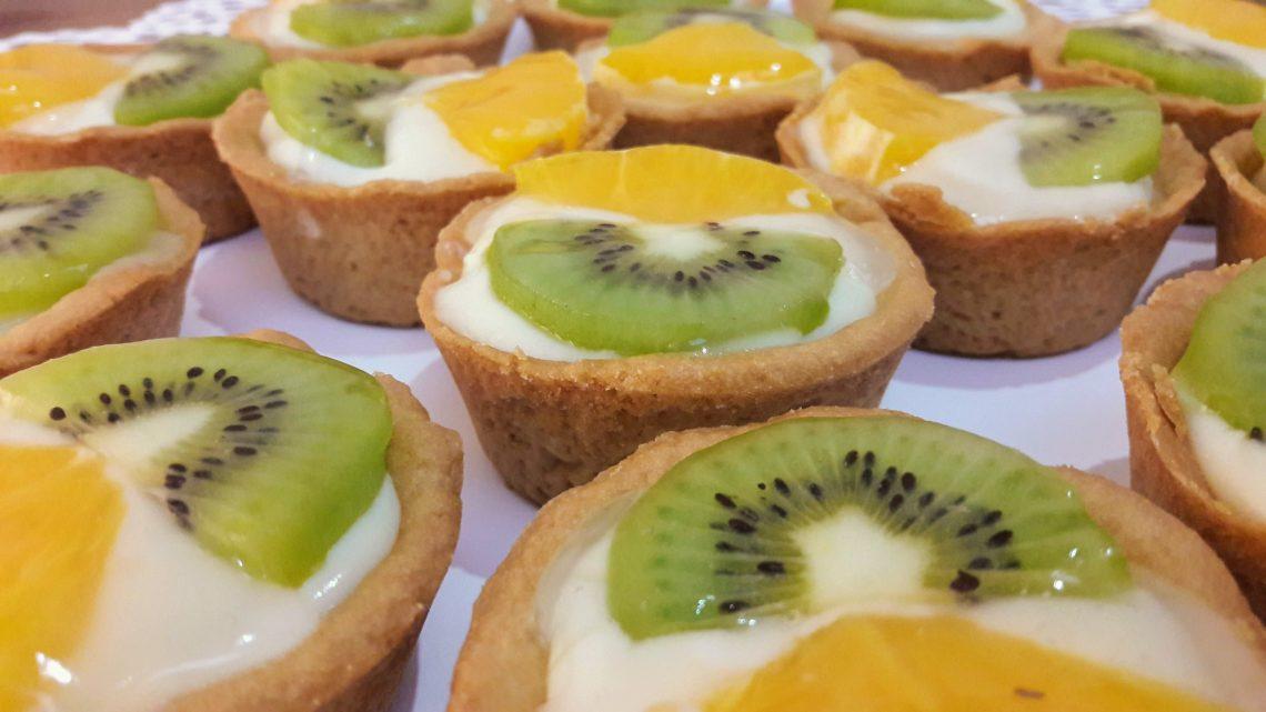 Meyveli Tartolet Tarifi |  Tartolet Nasıl Yapılır |  Fruity tart cakes |