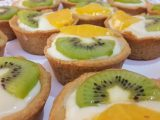 Meyveli mini tartolet tarifi yapımı ve tartolet tabanı tarifi tam anlatımlı vedeolu tarif