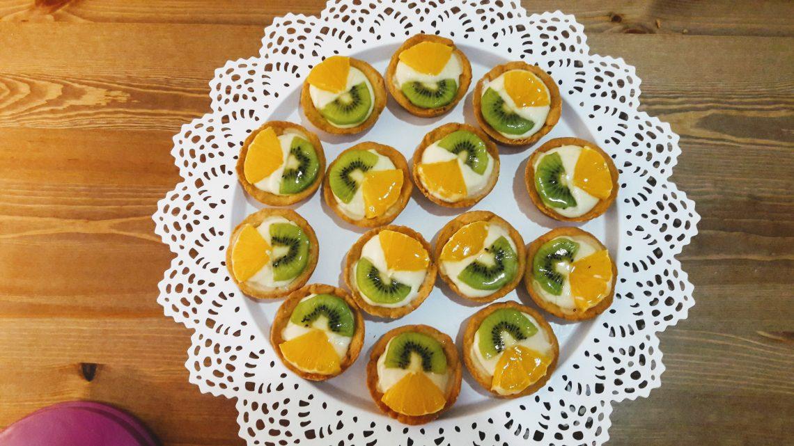 Meyveli Tartolet Tarifi    Fruity tart cakes  
