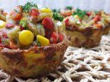 Patates çanağında patlıcan salatası tarifi tam anlatıımlı videosu