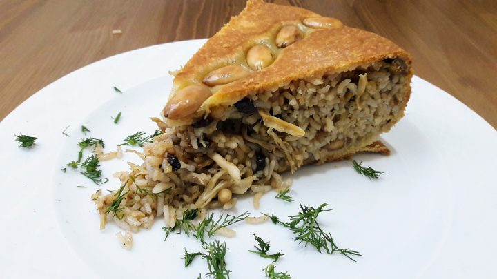 Perde Pilavı Tarifi (Turkish Amazıng Rice Recipe)