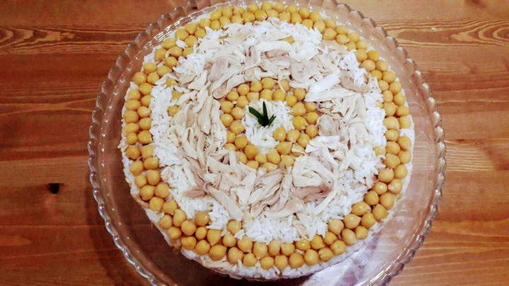 Nohutlu Tavuklu Pilav Tarifi / Rice Recipe /