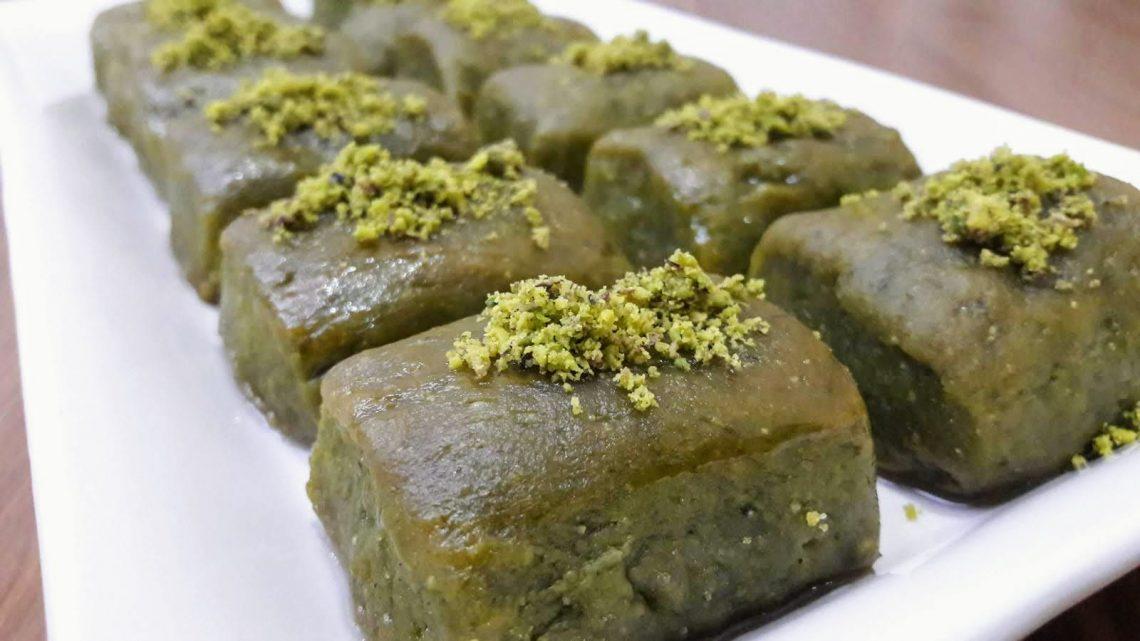 Ispanaklı Lokmalık Şerbetli Tatlı | Turkish Dessert Recipe |