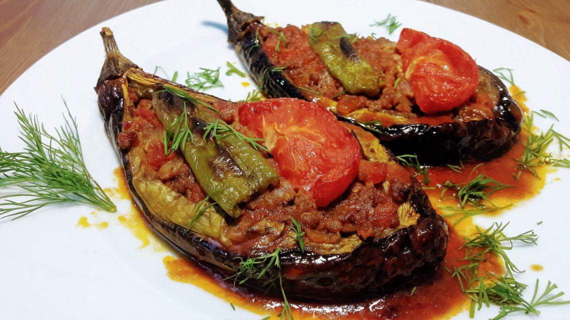 Kızartmadan Kıymalı Karnıyarık Tarifi (Eggplant Dısh Recipe)