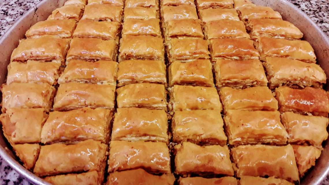 El Açması Cevizli Baklava Yapımı | How To Make Baklava | Turkish Baklava Recipe