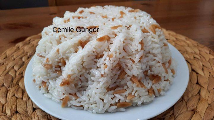 ASLA LAPA OLMAYAN Pirinç Pilavı Nasıl Yapılır Şehriyeli
