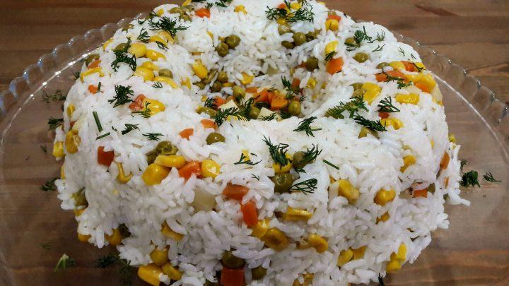 En Güzel Pirinç Pilavı Tarifi   Sebzeli Pilav   Rice Recipe  