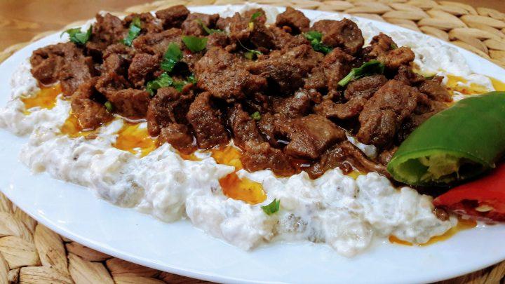 Alinazik Tarifi Etli (Antep Usulü) / Antep Yemekleri