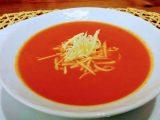 Kışlık Domates sosundan Domates Çorbası Yapımı