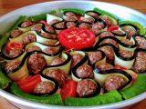 Patlıcanlı Tepsi Yemeği tarifi