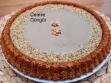 Tart kalıbında tahinli kek tarifi